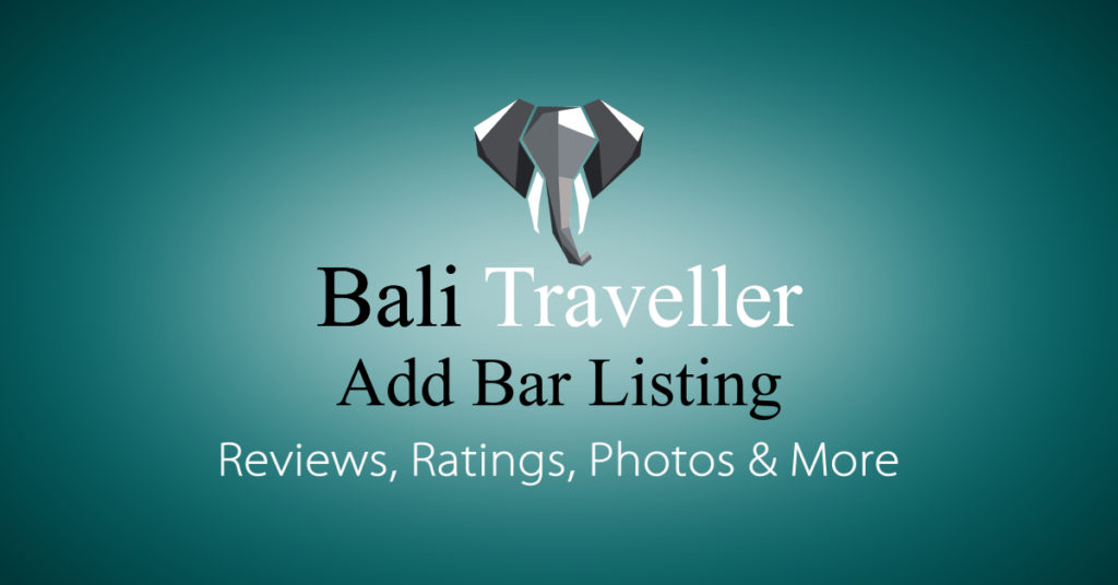 Add Bali Bars Listing