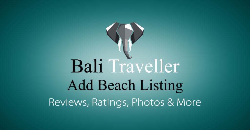 Add Bali Beaches Listing