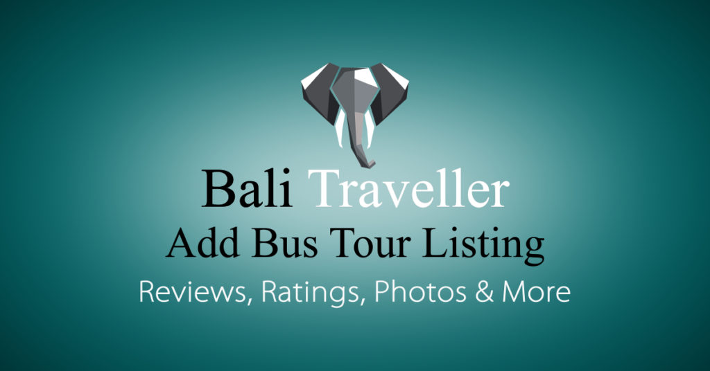 Add Bali Bus Tour Listing