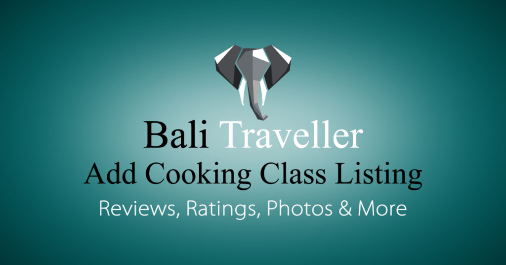 Add Bali Cooking Class Listing