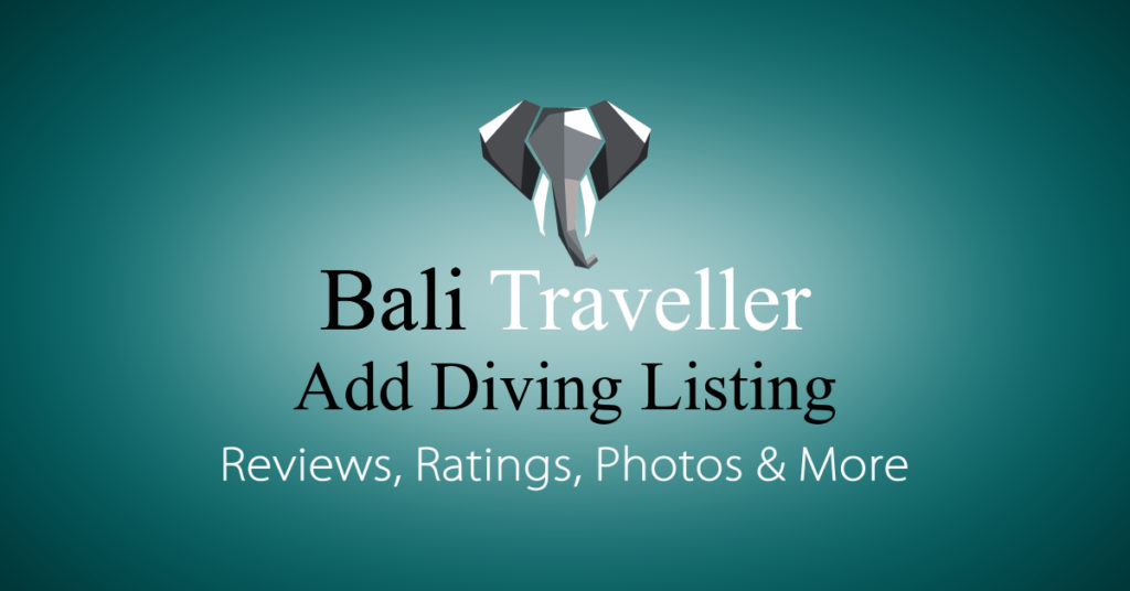 Add Bali Diving Listing