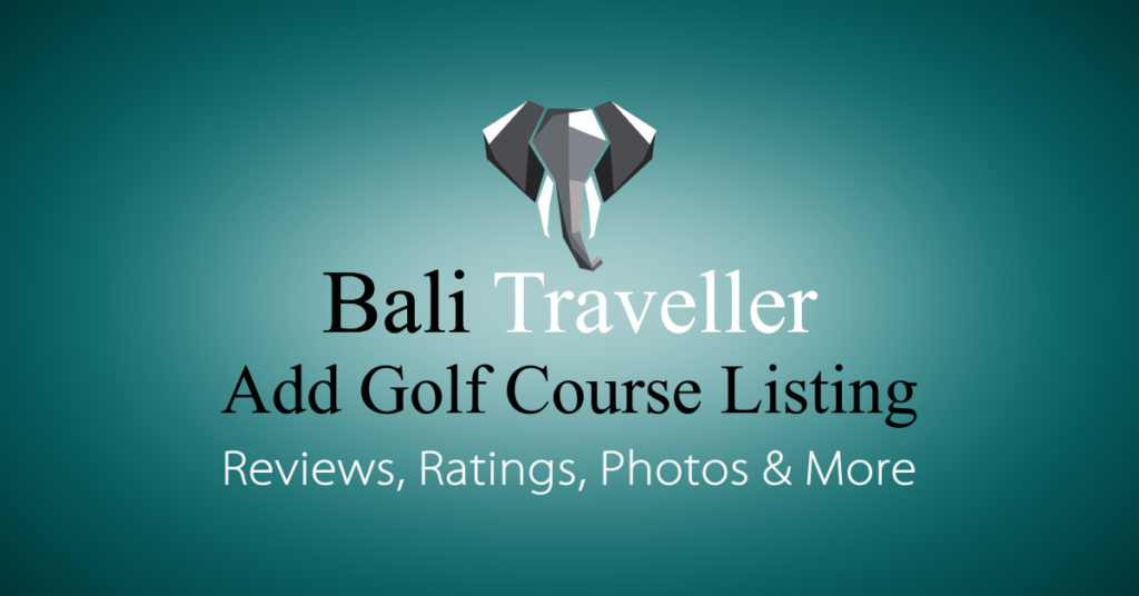 Add Bali Golf Course Listing