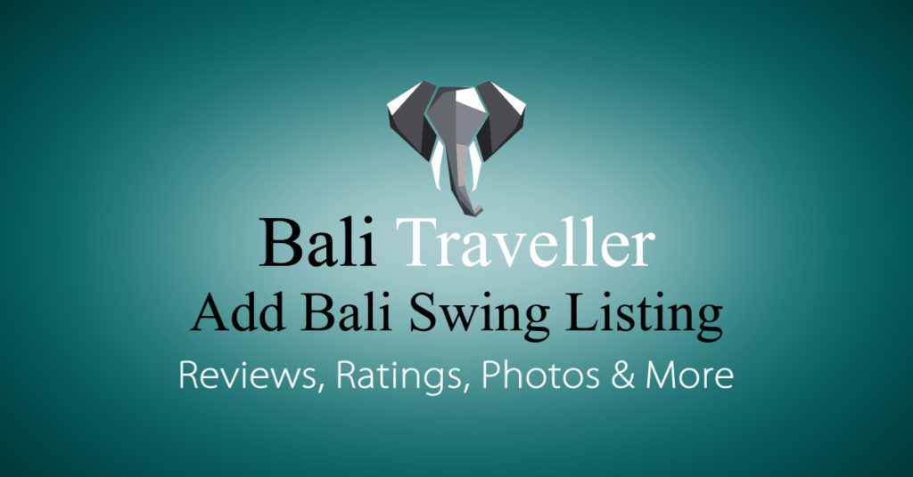 Add Bali Swing Listing