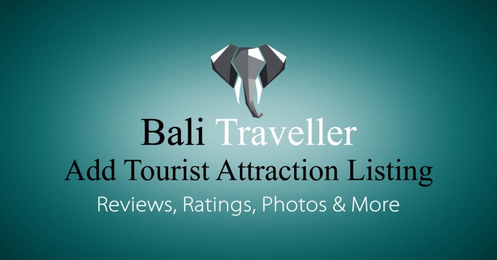 Add Bali Tourist Attraction Listing