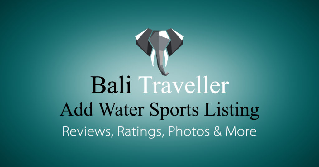 Add Bali Water Sports Listing
