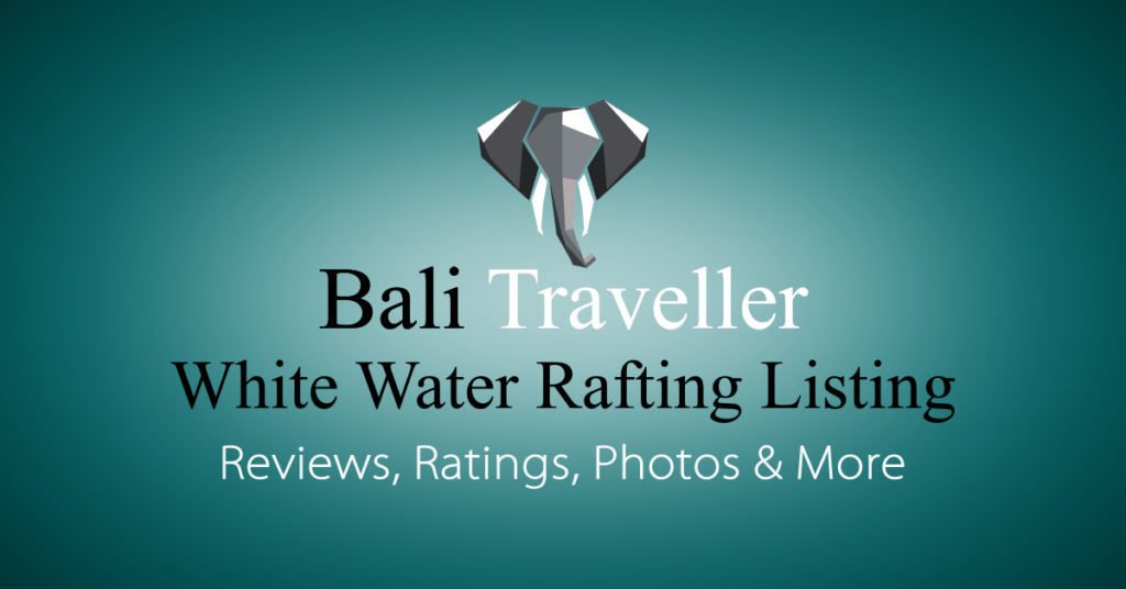 Add Bali White Water Rafting Listing